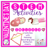 Valentine's Day Activities February STEM Engineering Challenges