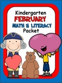 February Math and Literacy Packet (102 pages)
