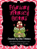 February {Valentines Day} Literacy Centers