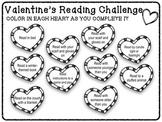 February Valentine's Day Reading Challenge