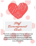 February Valentines Day Staff Encouragement Activity for C