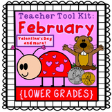 Valentine's Day activities, Groundhog Day {lower grades}