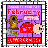 Valentine's Day activities, Groundhog Day {upper grades}