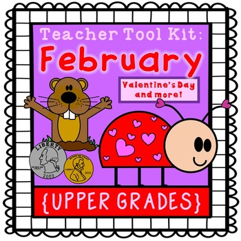 Valentine's Day activities, Groundhog Day {upper grades}