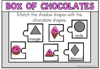 February Valentines Math Freebie KG