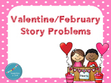 February/Valentine Story Problems