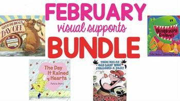 February Visual Supports BUNDLE