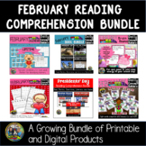 February Vocabulary Literacy Bundle