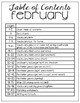 February Vocabulary Unit- for Student's with Special Needs