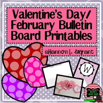 February Winter Valentine S Bulletin Board Craftivity And Writing