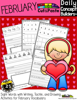 Valentine's  Day Cut and Paste Activities