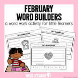 February Word Builders Freebie Pack!