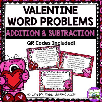 Valentine Word Problems