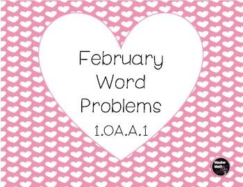 February Word Problems 1.OA.A.1