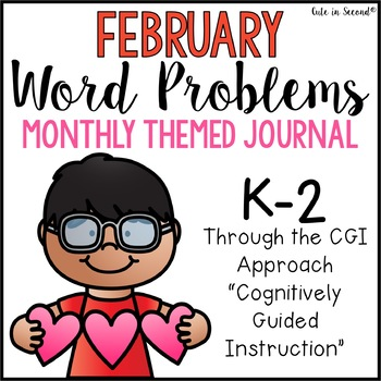 February Word Problems Journal Booklet