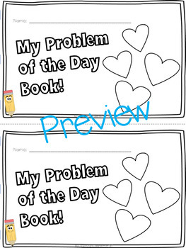 February Word Problems & Math Interactive Notebook Pack!
