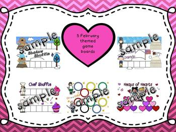 Word Study Games (Any Word Feature) February
