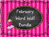 February Word Wall BUNDLE