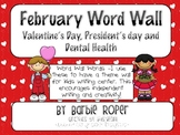 February Word Wall Words
