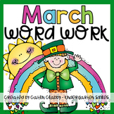 Word Work: March