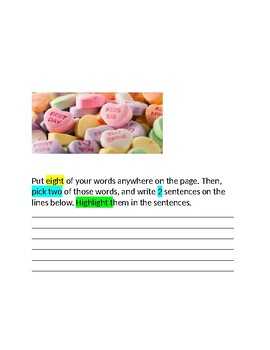 February Words Their Way Packet