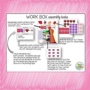 February Work Box Assembly Tasks