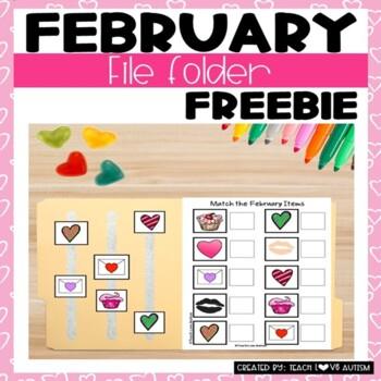February Work Tasks or File Folders
