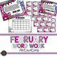 February Word Work Bundle