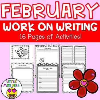 February Work on Writing Pack
