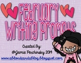February Work on Writing Writing Prompts