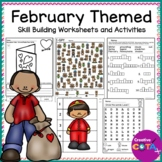 February Worksheets and Activities Variety Set
