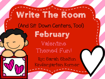February Write The Room (And Sit Down Centers Too)
