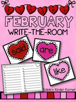 February Write-the-Room!