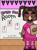 February Write the Room Activities for Kindergarten