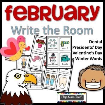February Write the Room Bundle