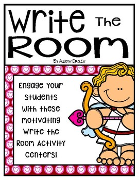 February Write the Room For Younger and OLDER Students