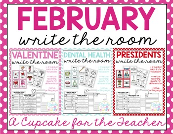 February Write the Room Mini Bundle
