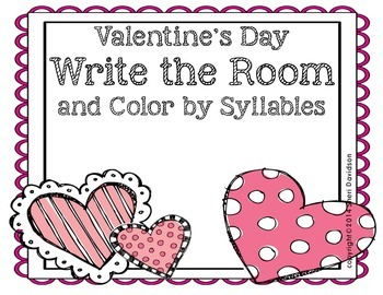 February Write the Room {Valentine edition}