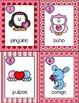 February Write the Room: *Valentine's Animals* in Spanish
