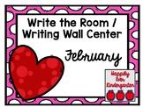 February Write the Room - Writing Wall Center