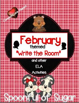 """February """"Write the Room"""" and other ELA Activities"""