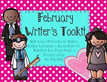 February Writer's Toolkit!