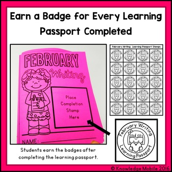 February Writing Prompts - Learning Passport