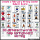 February Writing Activity: Bulletin Board Vocabulary Words & Word Rings