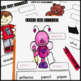 February Writing Activity: Labeling Pictures Using a Word Bank