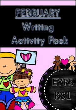 February Writing Activity Pack