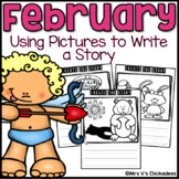 February Writing Activity: Using Pictures to Write a Story