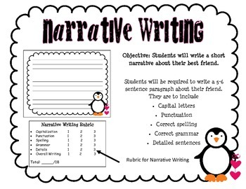 February Writing Assessment Pack
