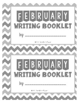 February Writing Booklet