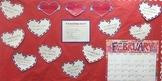 February Writing Bulletin Board Valentine's Day